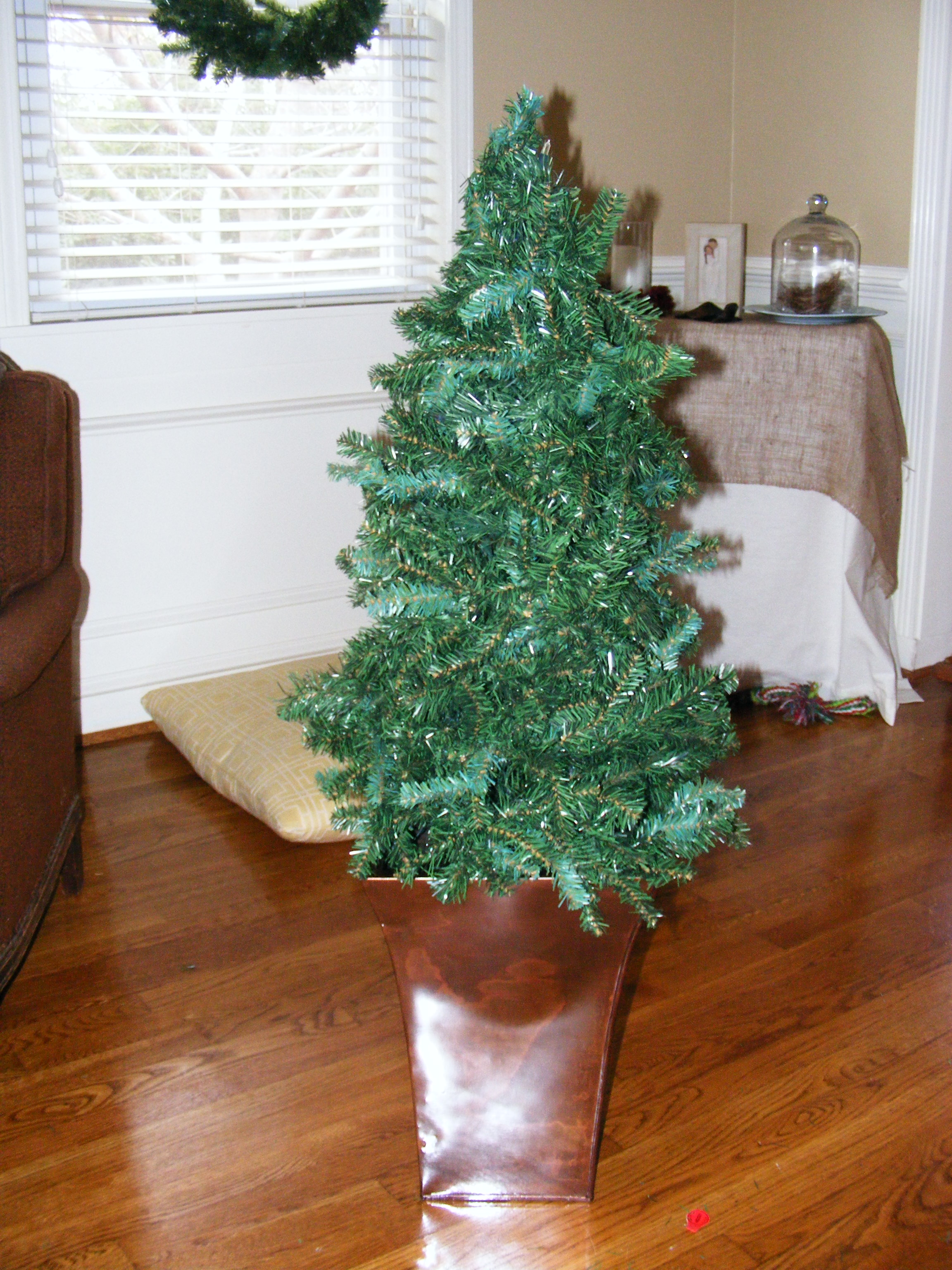 Small Prelit Christmas Tree