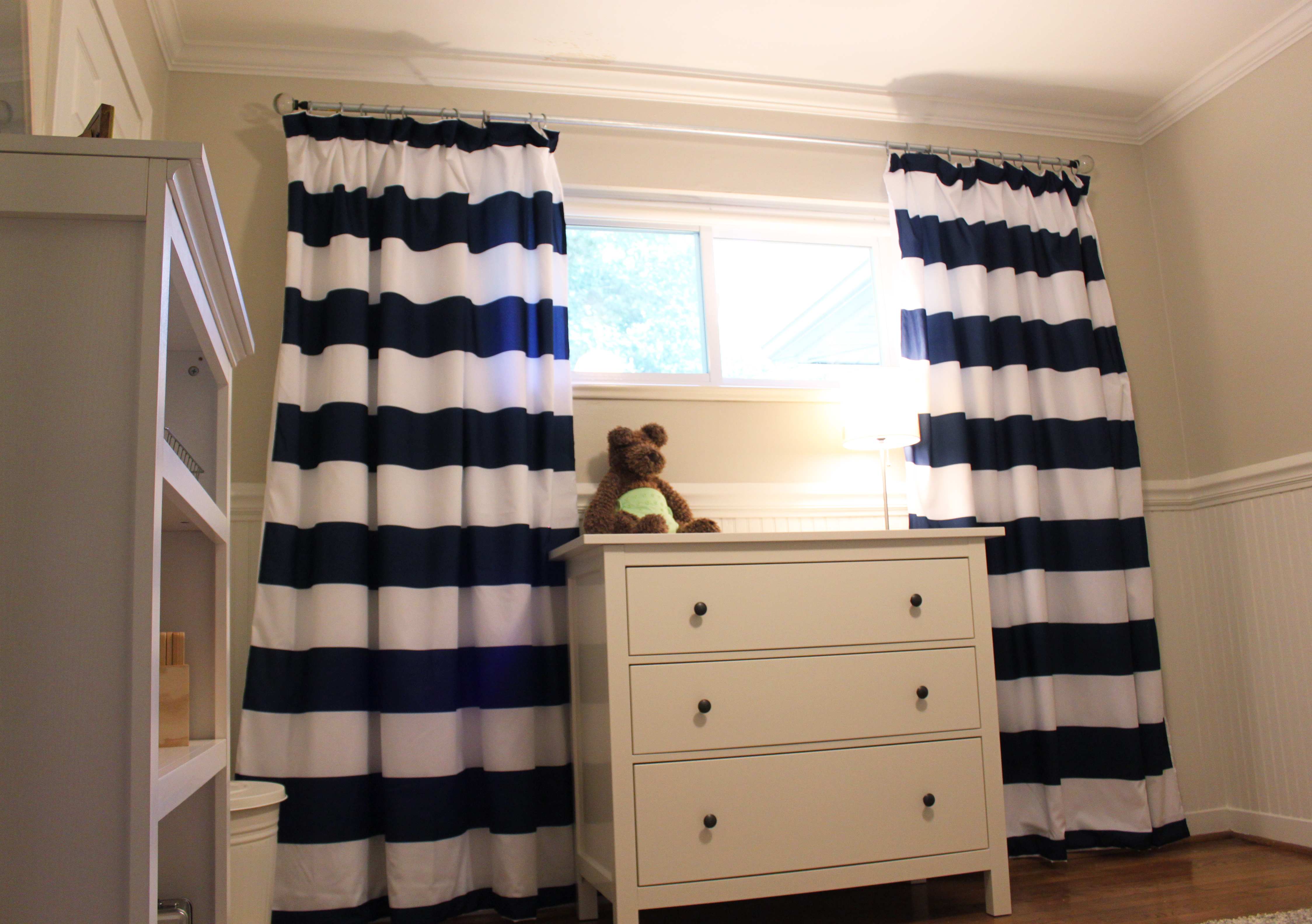 Boy nursery curtains - Curtains Rod Finials Etc And They Can